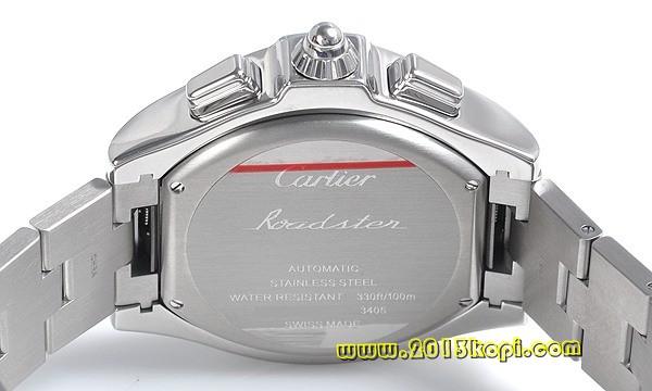 カルティエ ロードスターS クロノグラフ W6206019
