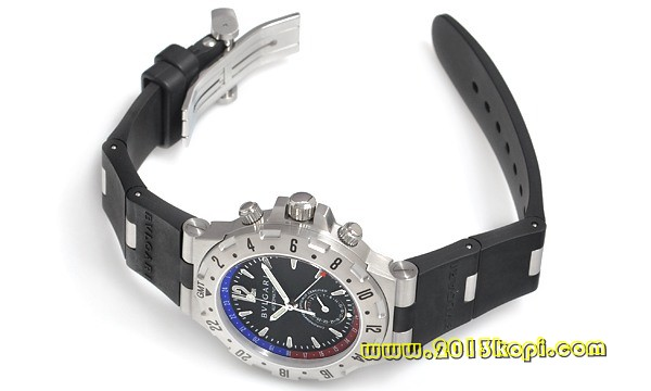ブルガリ ディアゴノ プロフェッショナル GMT GMT40SVD