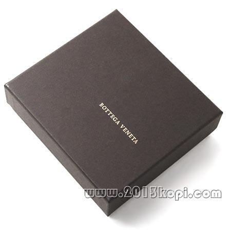 ボッテガヴェネタ 113993 v4651 1000イントレチャートの2つ折り財布 レディース ブラック