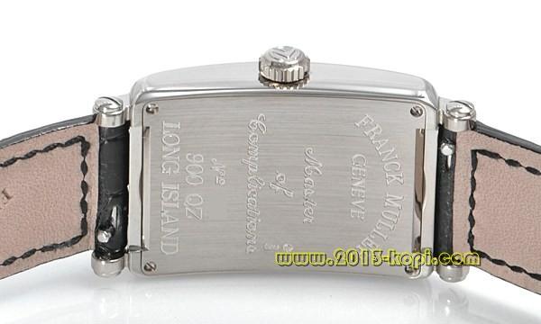 フランクミュラー ロングアイランド900QZ ホワイトゴールド