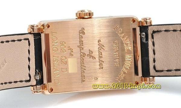 フランクミュラー 902QZD ロングアイランド ダイヤモンド K18WG金無垢