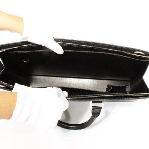 LOUIS VUITTON ヴィトン コピー ポルト ドキュマン ロザン ビジネスバッグ ブラック M30052