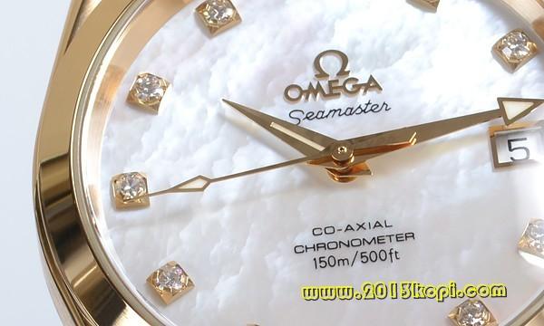 オメガ シーマスター コーアクシャル アクアテラ クロノメーター 2104-75