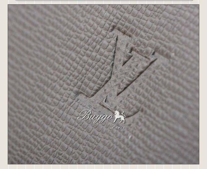 ヴィトン コピー ショルダーバッグ『ロマンGM』(タイガ/ブラック×ダークブラウン)M32626