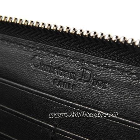 クリスチャンディオール emp43047 no ラウンドファスナー 長財布 小銭入れ付き レディース ブラック