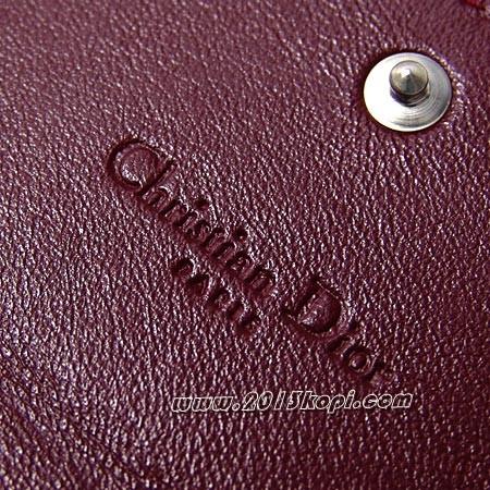 クリスチャンディオール 長財布 cal43060p noa3 チェーン 小銭入れ付き レディディオール ブラック レディース
