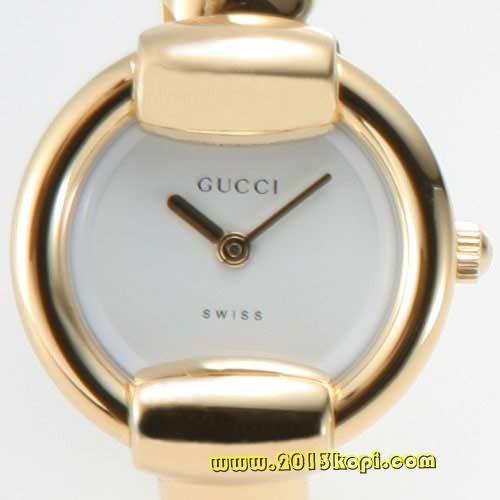グッチ GQ1400 バングルタイプ GPホワイト レギュラー YA014501