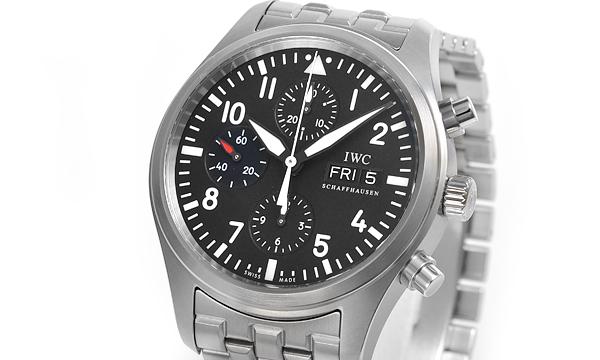 コピー腕時計 IWC パイロットウォッチ クロノグラフ IW371704