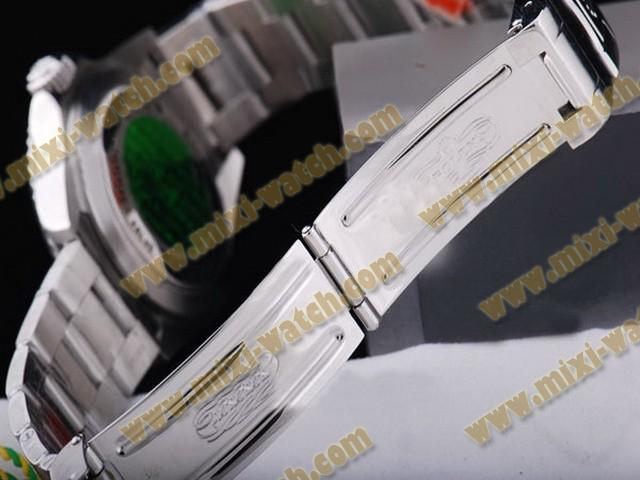 ロレックス    シードウェラー    ウオッチ     カドラン     ブラック    バージョン       ステンレススチール