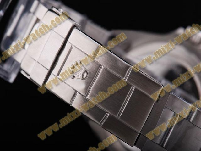 ロレックス    シードウェラー    ウオッチ     カドラン     ブラック    ルネット- Marquage     オートマティック