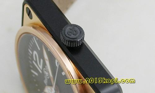 ベル&ロス ブラック アラビア 自動巻き メンズ BR01-92