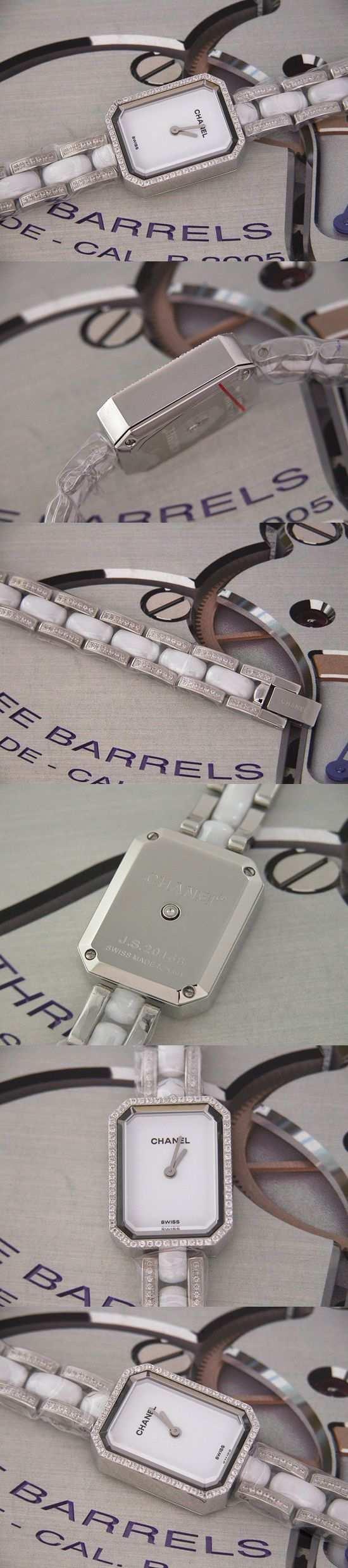 おしゃれなブランド時計がシャネル-CHANEL-H2146-プルミエール-女性用を提供します.