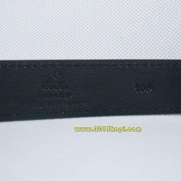 GUCCIグッチベルトスーパーコピー レザー シルバー金具 belt-50