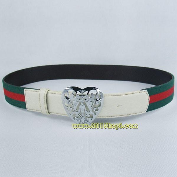 GUCCIグッチスーパーコピー キャンバス シルバー金具 belt-44
