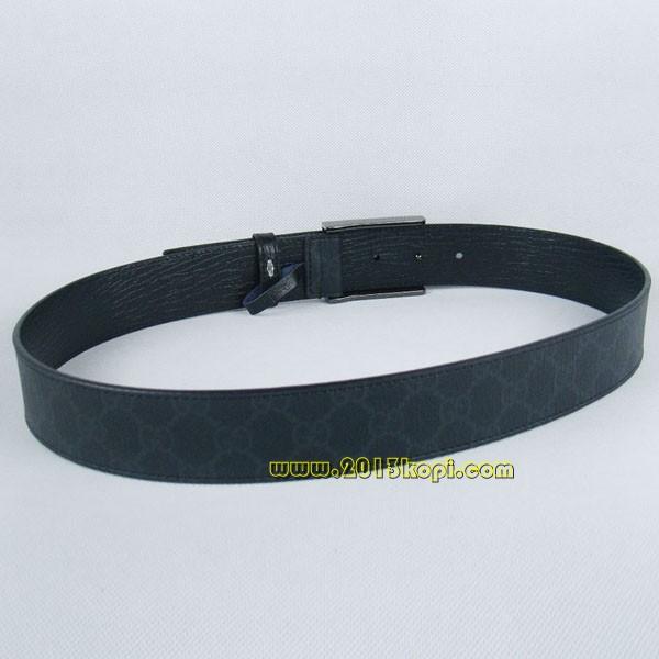 GUCCIグッチスーパーコピー GGキャンバス シルバー金具 belt-37