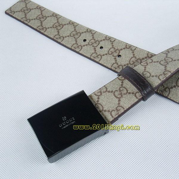 GUCCIグッチスーパーコピー GGキャンバス シルバー金具 belt-35