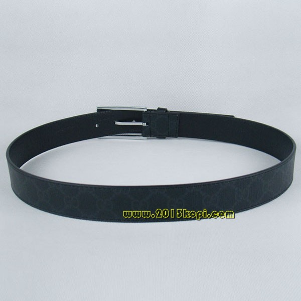 GUCCIグッチスーパーコピー レザー シルバー金具 belt-33
