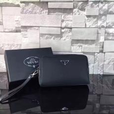 新作PRADA プラダ 特価 177P  クラッチバッグ 財布 メンズコピーブランドバッグ代引き