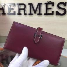 ブランド国内 HERMES エルメス   新作 長財布 財布レプリカ販売口コミ